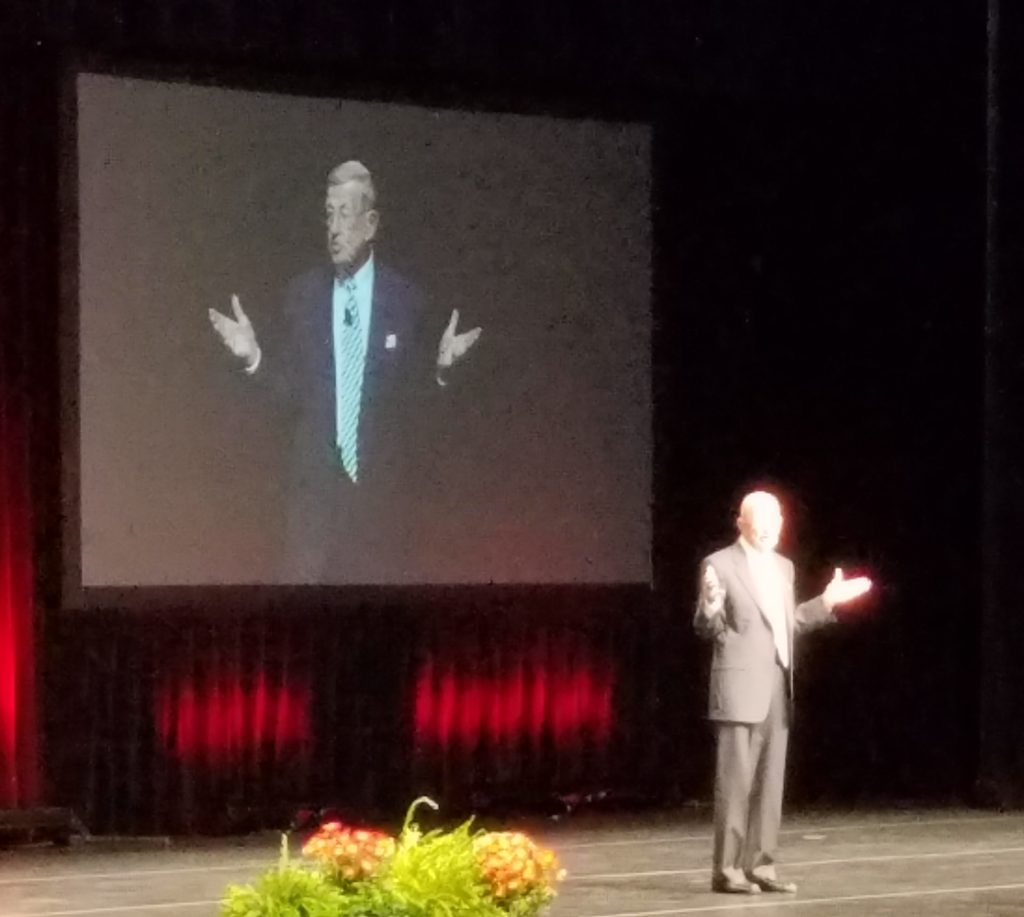 Lou Holtz's Inspiring and Entertaining Keynote Address at 2019 Athletic Business Show post image